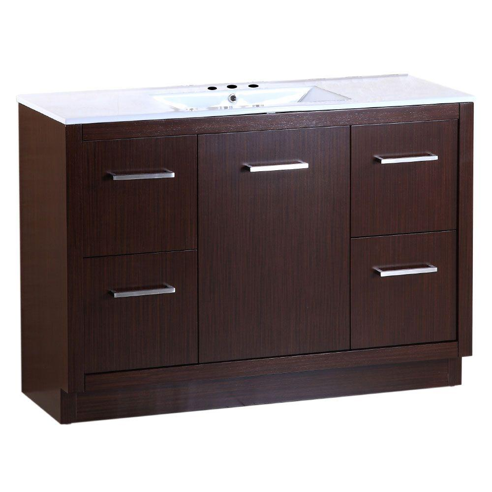 Dinuba 48 in. W x 18 in. D Single Vanity in