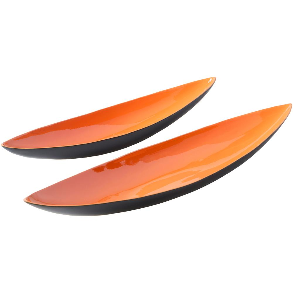 Jomori Bright Orange 5.9 in. Decorative Tray