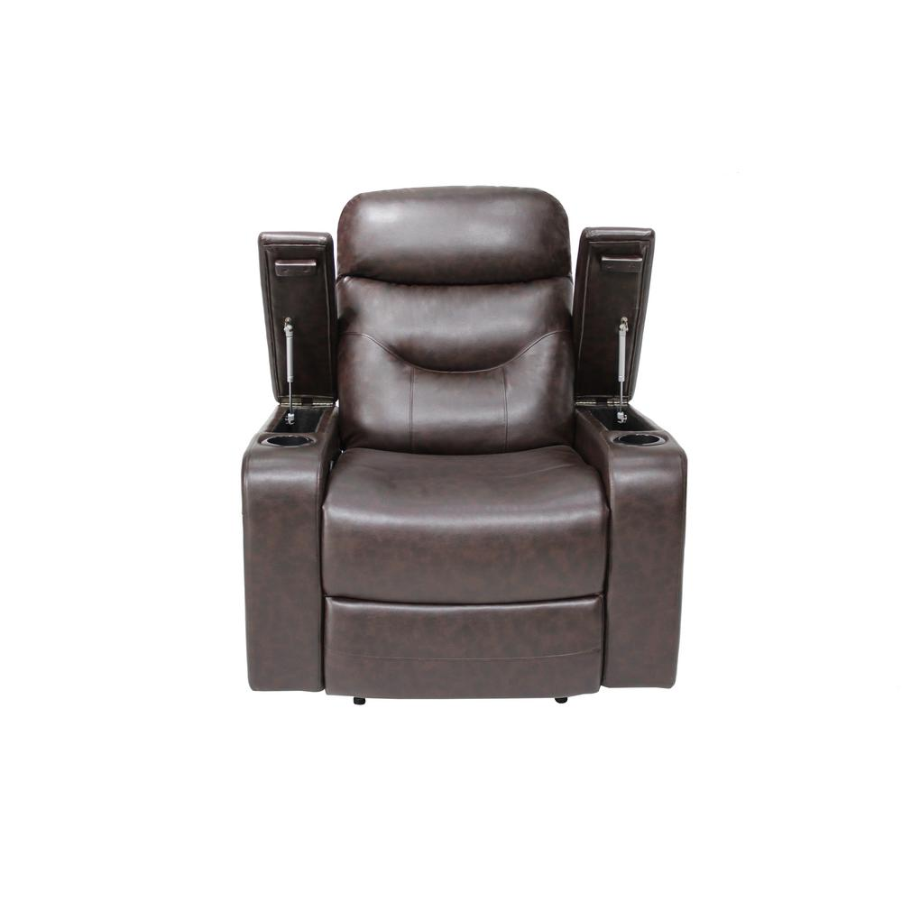 Strange Relax A Lounger Springfield Java Recliner Chair With Led Cup Ibusinesslaw Wood Chair Design Ideas Ibusinesslaworg