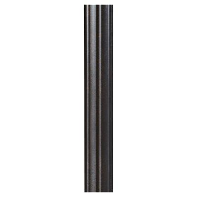 7 ft. Grecian Bronze Fluted Outdoor Lamp Post