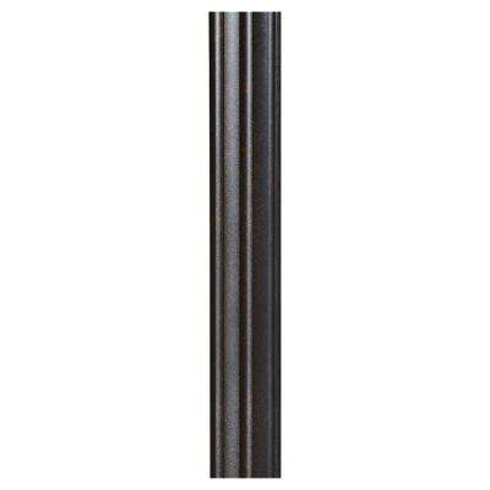 7 ft. Grecian Bronze Fluted Outdoor Lamp Post