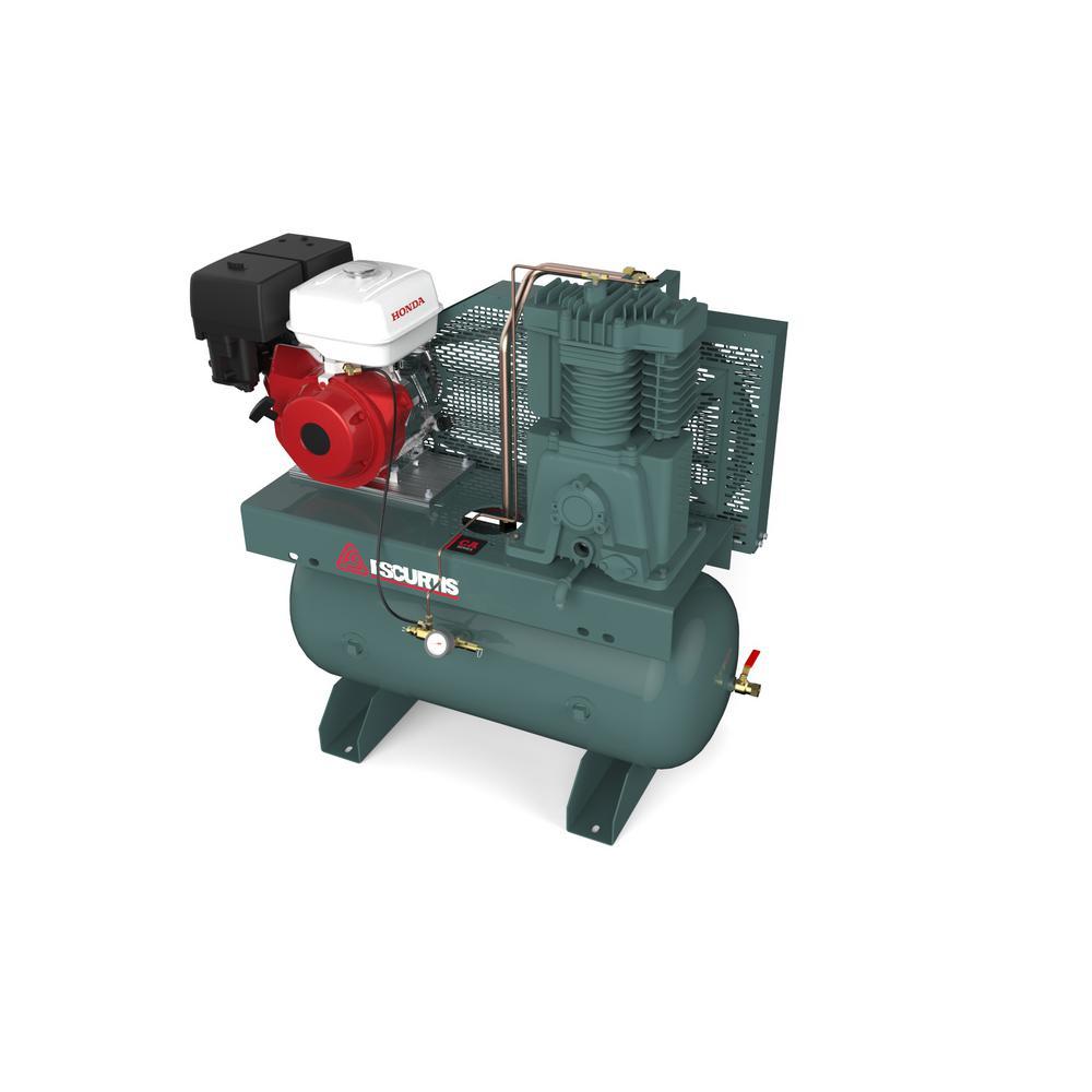 FS Curtis 30Gallon 13 HP Horizontal Gas Air Compressor