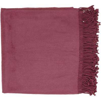 Liz Bright Purple Throw