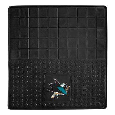 San Jose Sharks Heavy Duty Vinyl 31 in. x 31 in. Cargo Mat