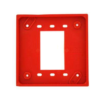 4-in-1 Adapter Plate for Use with Part Nos. 1254 and 21254 Only, Red