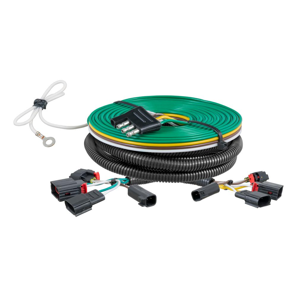 curt custom towed vehicle rv wiring harness 58907 the. Black Bedroom Furniture Sets. Home Design Ideas