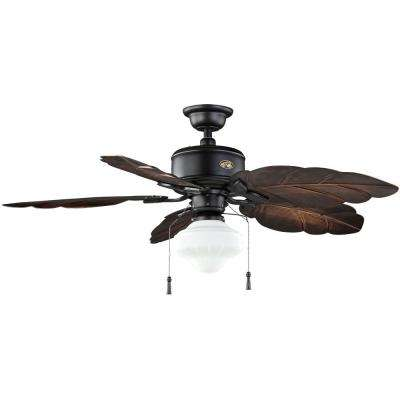 Nassau 52 in. LED Gilded Iron Ceiling Fan