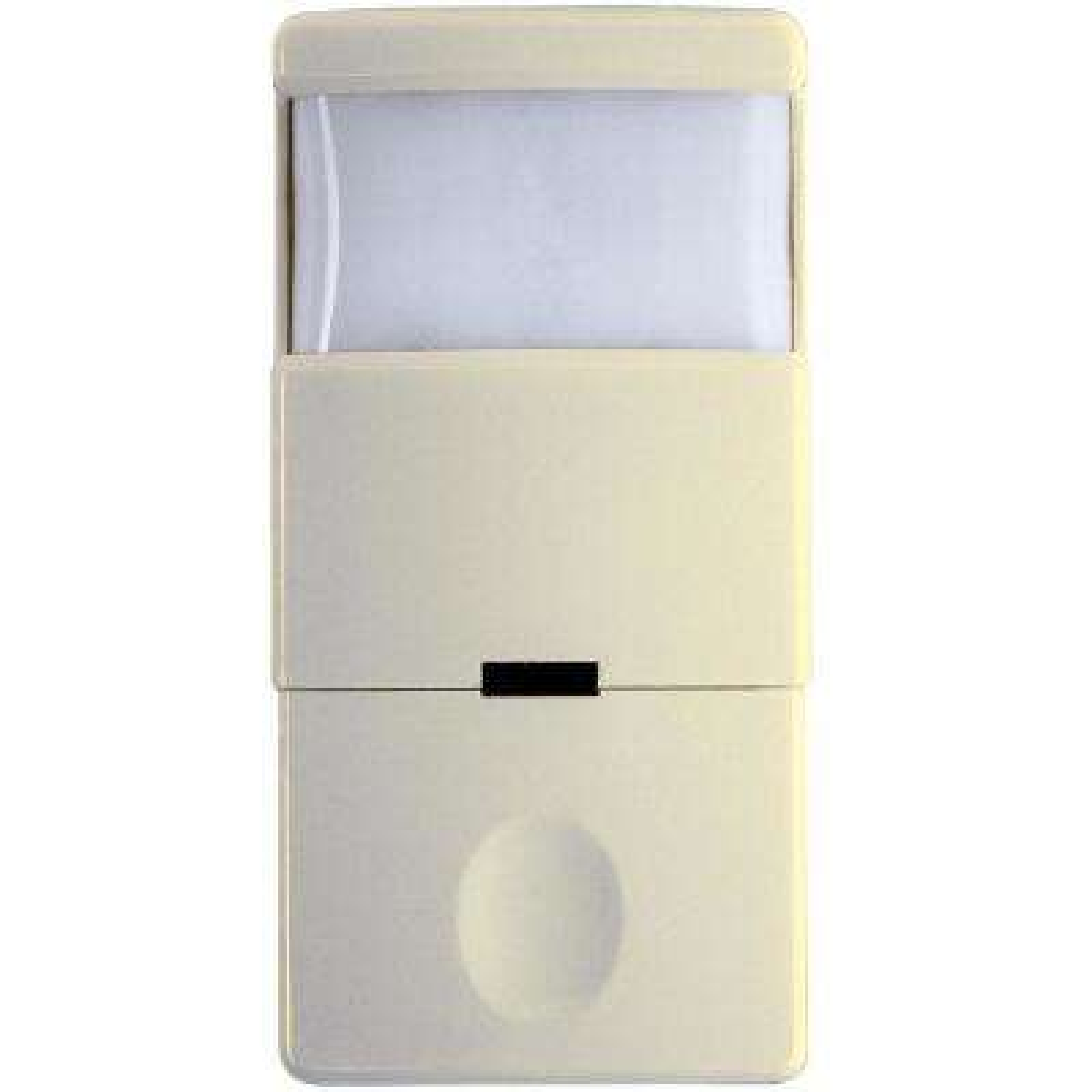 IOS Series 800-Watt PIR Sensor Switch Self-Adaptive In-Wall 180-Coverage Pattern Decorator, Ivory