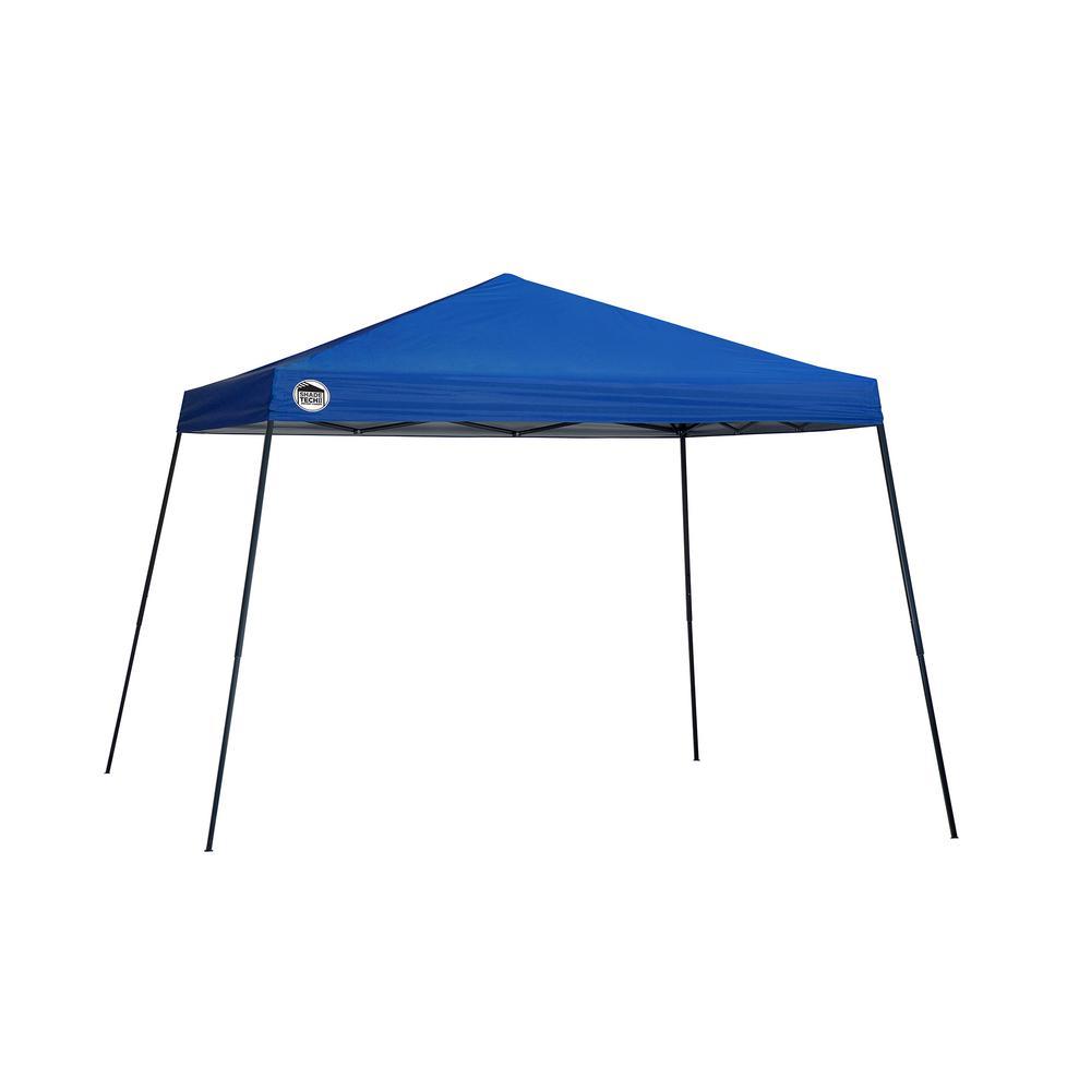 ST81 12 ft. x 12 ft. Blue Slant Leg Canopy