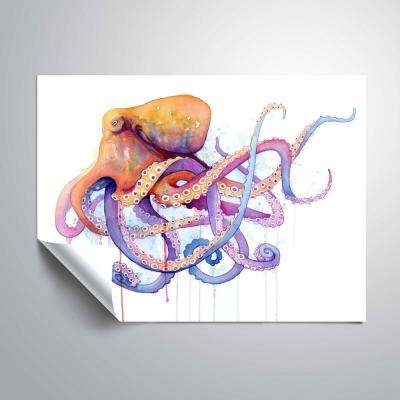'Octopus 2'  Removable Wall Mural