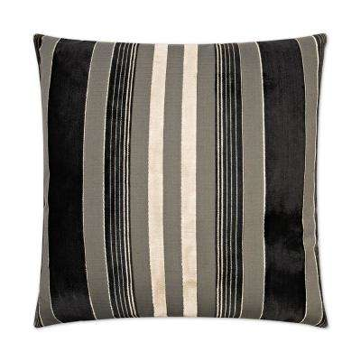 Cayman Feather Down 24 in. x 24 in. Standard Decorative Throw Pillow