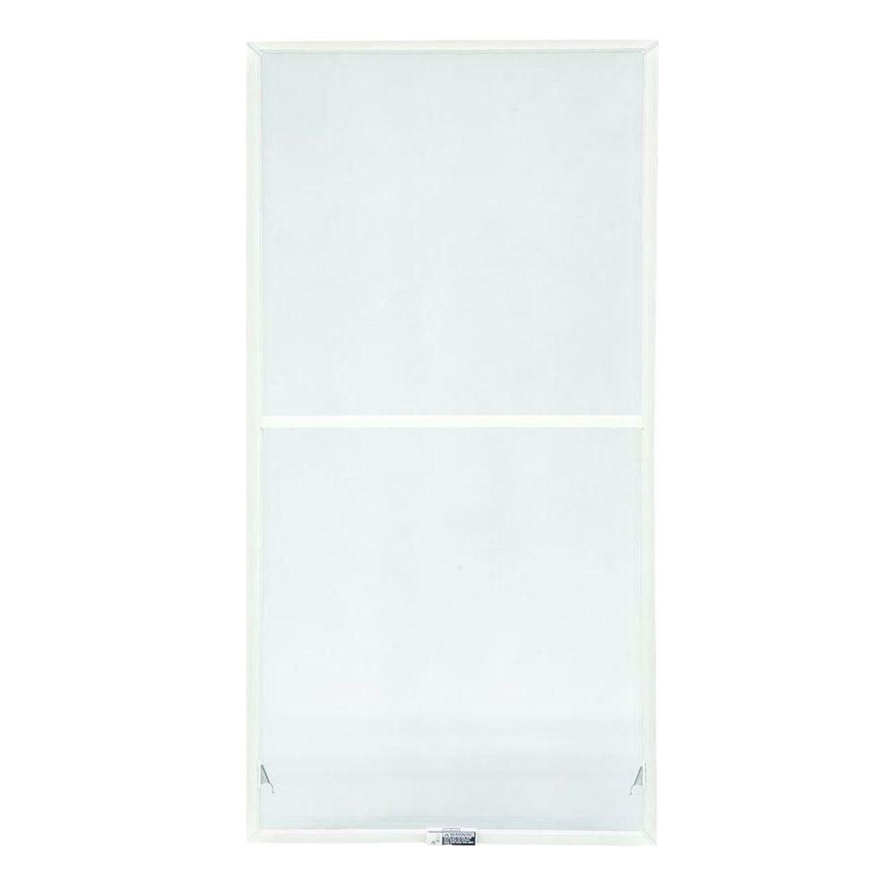 TruScene 27-7/8 in. x 34-27/32 in. White Double-Hung Insect Screen