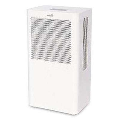 Ivation 4.3 Pint Small Compact Dehumidifier with Continuous Drain Hose for Attic and Closets Thermo-Electric Technology