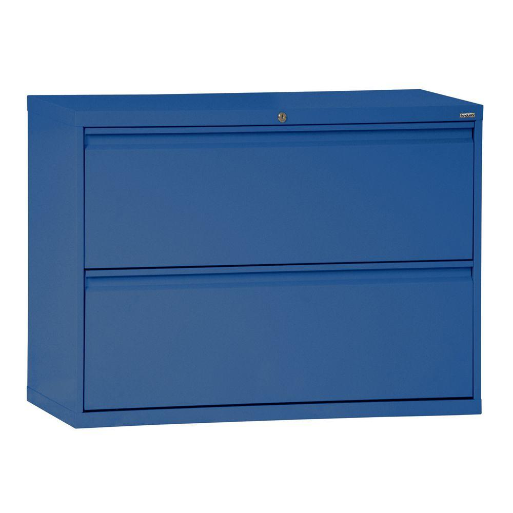 800 Series 36 in. W 2-Drawer Full Pull Lateral File Cabinet