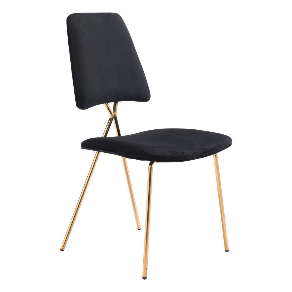 Chloe Black Dining Chair (Set of 2)