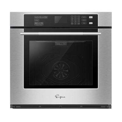 30 in. Single Electric Wall Oven with Convection Self-Cleaning in Stainless Steel