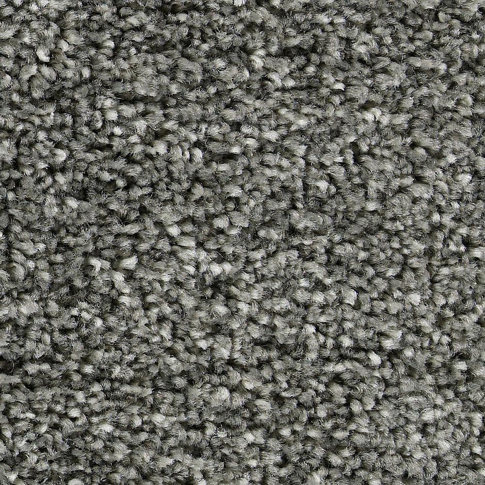 Carpet Sample - Greenlee II - In Color Bedrock 8 in. x 8 in.