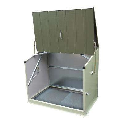 4-1/2 ft. x 3 ft. Heavy-Duty Steel Stowaway Storage Shed