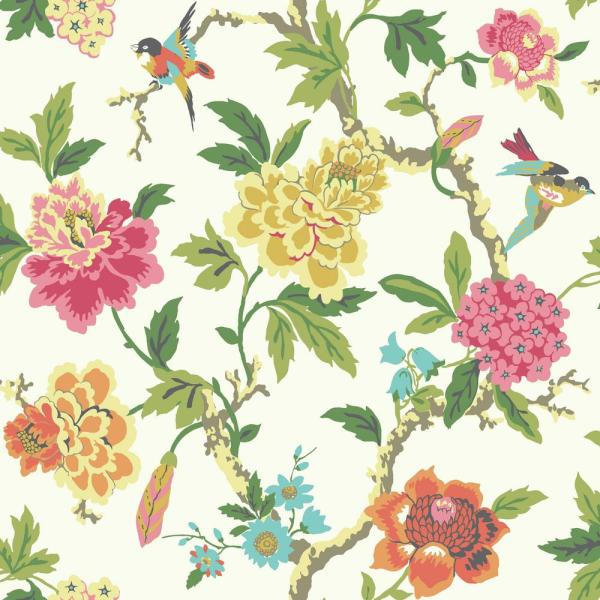 York Wallcoverings Waverly Candid Moment Wallpaper GP5901