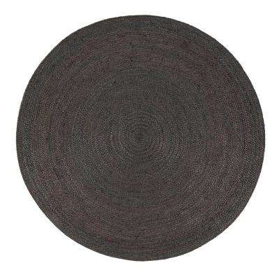 Kerala Gray 4 ft. Round Area Rug
