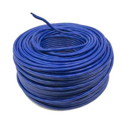 100 m (328 ft.) Cat6 Unshielded Twisted Pair Solid Blue