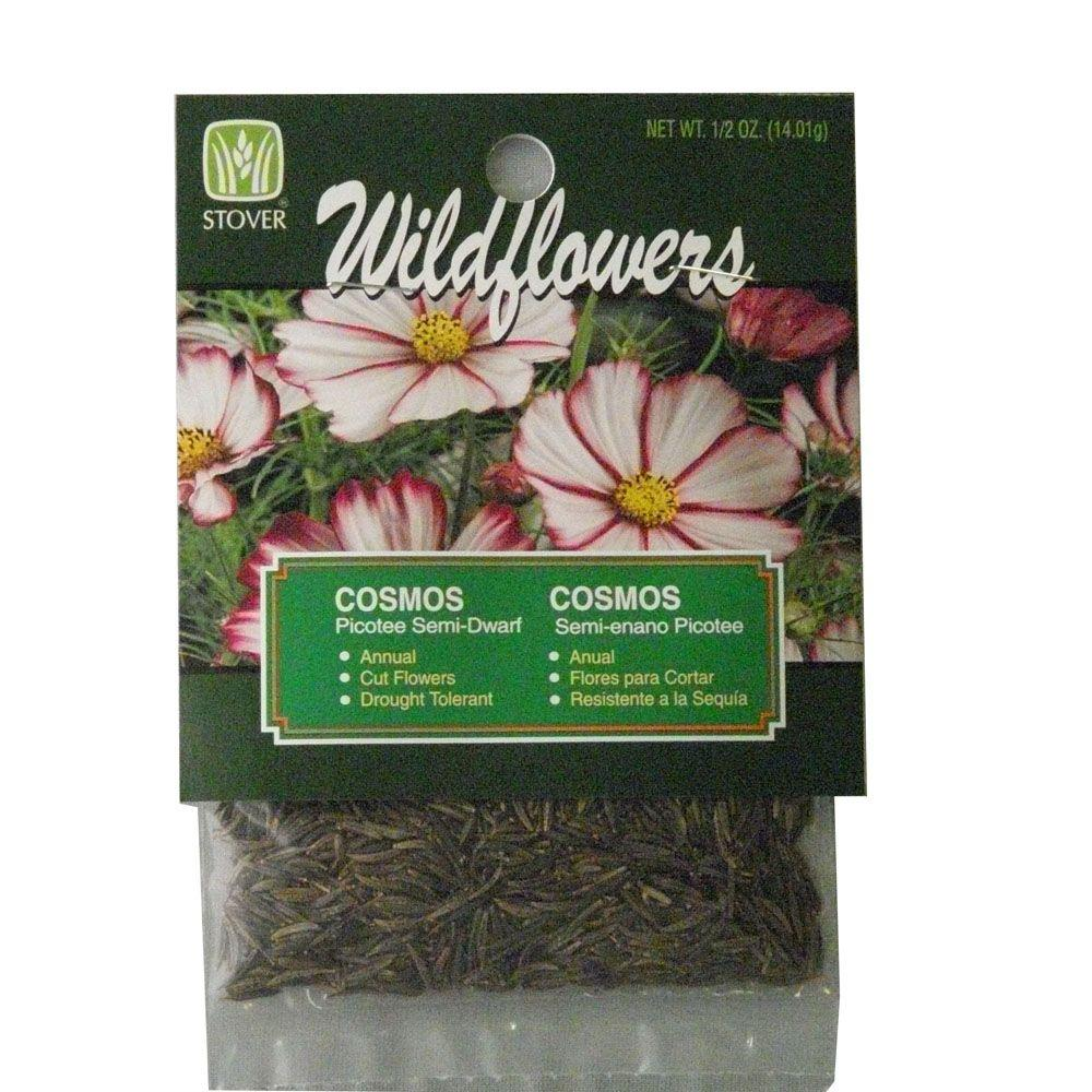 Stover Cosmos Picotee Mix Flower Seed 79090 6 The Home Depot