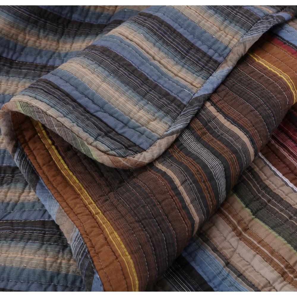 Durango Multi Quilted Cotton Throw