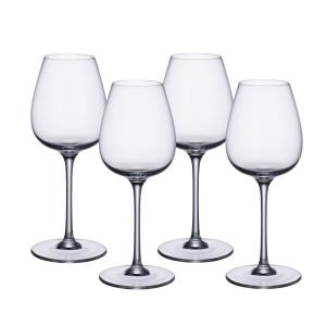 Click here to buy Villeroy & Boch Purismo 19.25 fl. oz. Lead Free Crystal Red Wine Glass (4-Pack) by Villeroy & Boch.