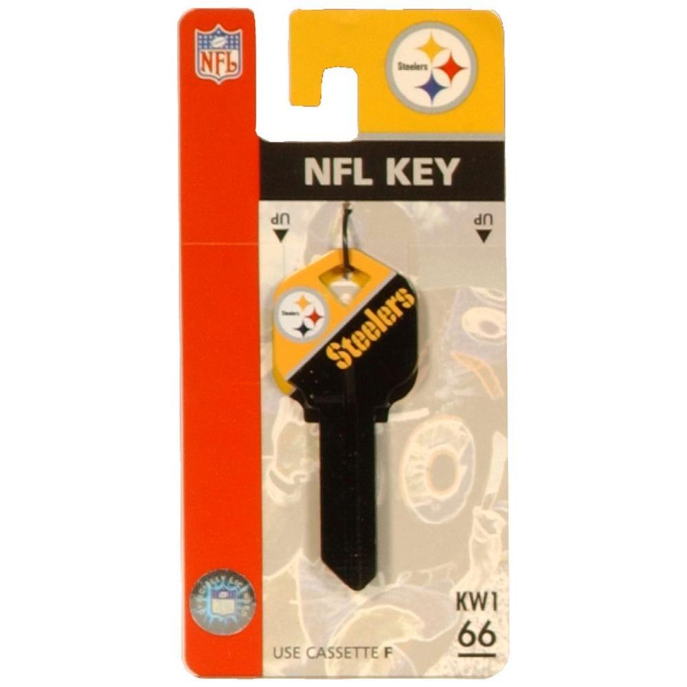 The Hillman Group 66 Pittsburgh Steelers House Key 89788
