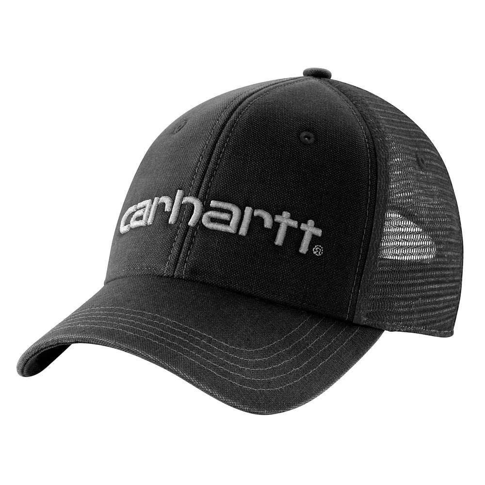 Carhartt Men s OFA Black Cotton Cap Headwear-101195-001 - The Home Depot 8c78f7dc7e9