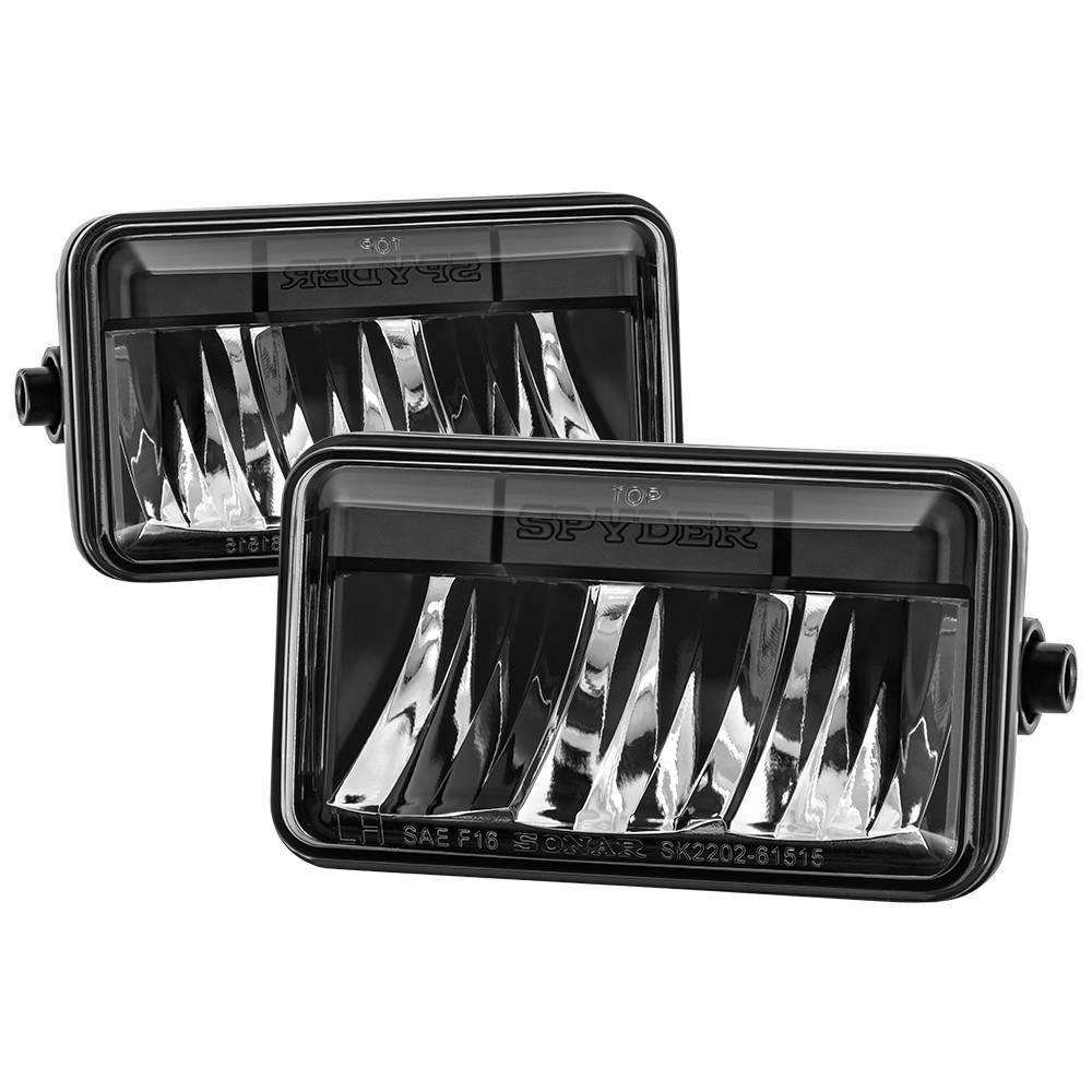 Spyder Auto Ford F150 15-16 LED Fog Lights - Black