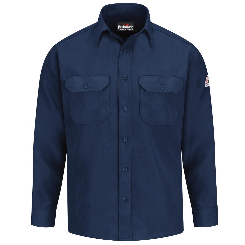 Nomex IIIA Men's Medium (Tall) Navy Uniform Shirt