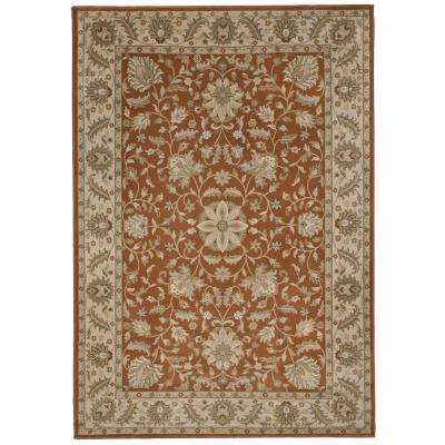 Bursa Leather 5 ft. 3 in. x 7 ft. 6 in. Area Rug