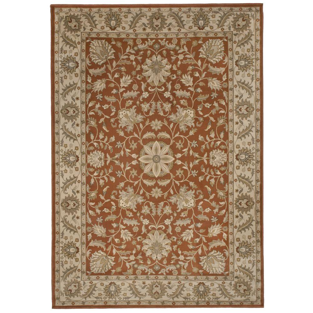 Orian Rugs Bursa Leather 6 ft. 7 in. x 9 ft. 8 in. Area Rug