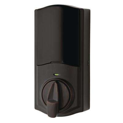 Convert Smart Lock Venetian Bronze Conversion Kit featuring Z-Wave Technology