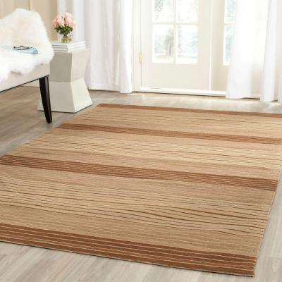 Marbella Beige/Brown 8 ft. x 10 ft. Area Rug