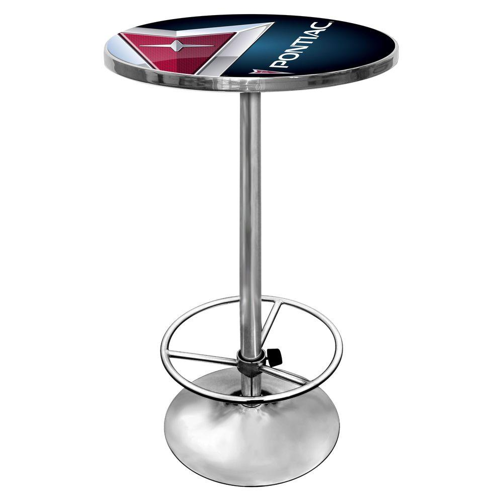Trademark Pontiac Black Pub/Bar Table