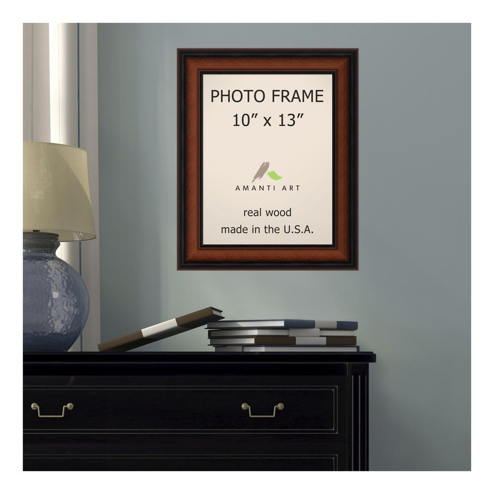 Brown poster frame