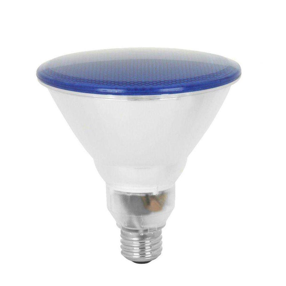 Feit Electric 100W Equivalent Blue PAR38 CFL Flood Light Bulb (12-Pack)