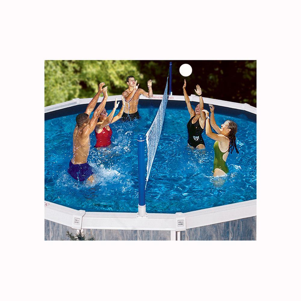 Swimline Jammin Above Ground Cross Pool Volleyball Game-9187SL - The ...