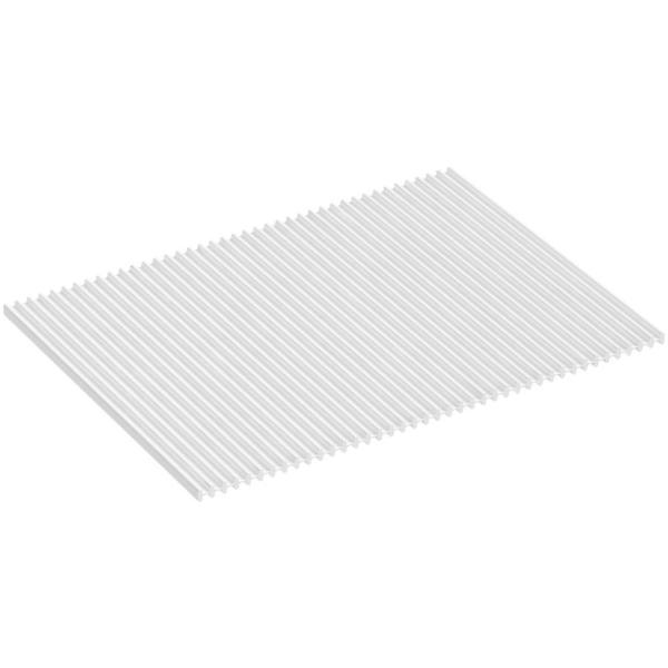KOHLER Silicone Dish Drying Mat in White