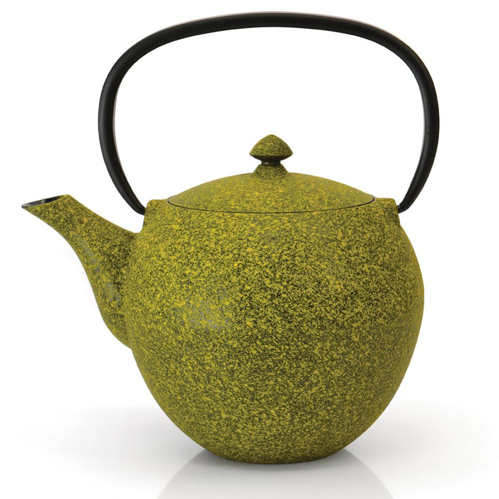 Studio 4.8-Cup Lemon Cast Iron Teapot