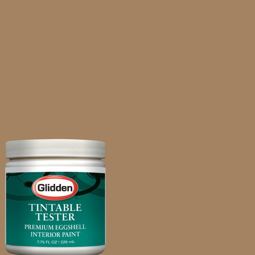 Glidden Premium 8 oz  #GLN02 Gentle Fawn Interior Paint Sample-GLN02 D8 -  The Home Depot