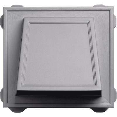 6 in. Hooded Siding Vent #016-Gray