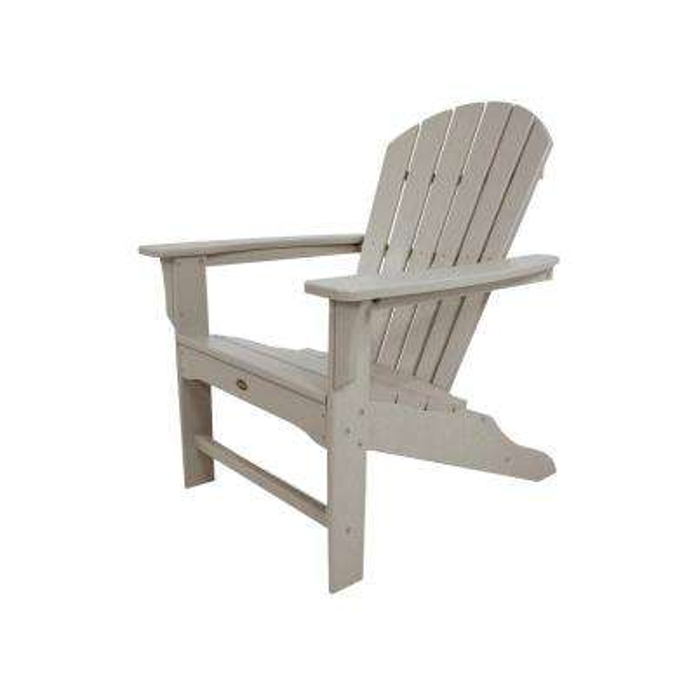 Cape Cod Sand Castle Plastic Patio Adirondack Chair