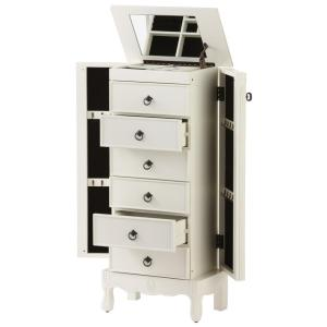 Home Decorators Collection Keys Ivory Jewelry Armoire9635600440