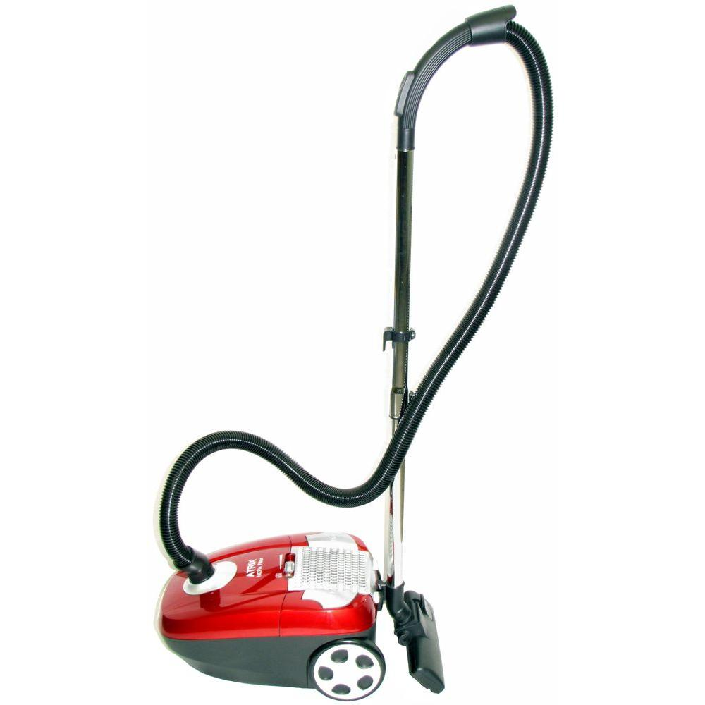 Canister HEPA Vacuum Cleaner in Red
