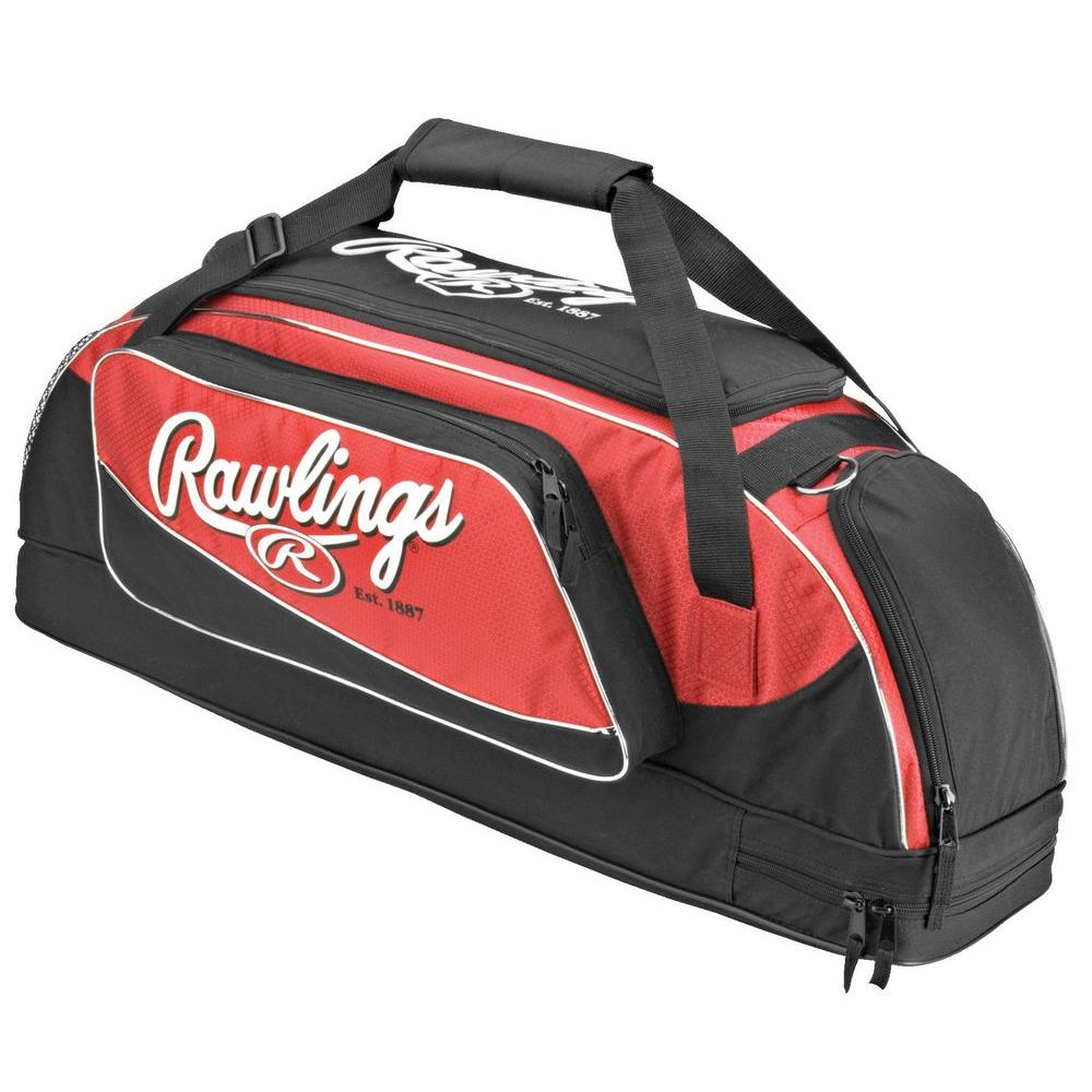 null Wheeled Scarlet Red Bat Bag-DISCONTINUED