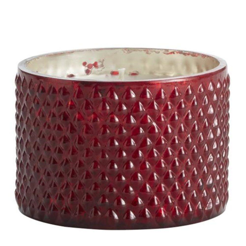 Home Decorators Collection Demi 2 in. H Noble Currant Mercury Glass Candle
