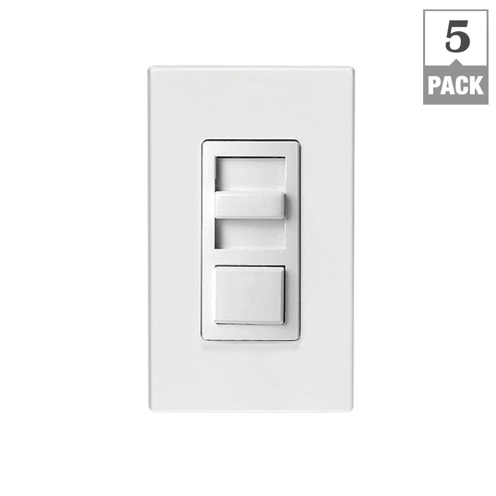 Leviton Decora Smart 600-Watt with HomeKit Technology Dimmer, Works ...